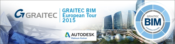 GRAITEC European BIM Tour 2015: un viaggio attraverso l'Europa con il BIM