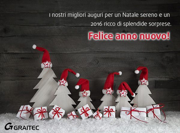 Buone feste del Team GRAITEC!