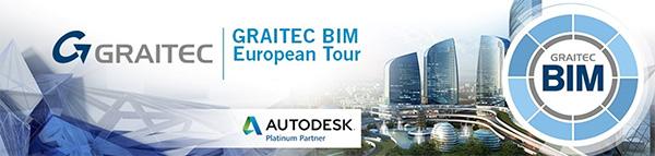 GRAITEC Annuncia il ritorno del BIM Tour 2016 – Connected BIM