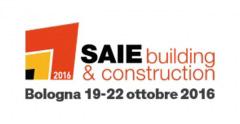 Partecipazione SAIE di Bologna dal 19 al 22 ottobre al padiglione 32 stand A66